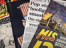 MADNESS - EARLY 1980s MIS FAN CLUB COMICS 6, 8, 10 & 13 - SUGGS SKA TWO 2 TONE