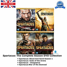 Spartacus - The Complete Season DVD Collection Blood And Sand Season 1 + Extra