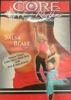 Core Rhythms Dance Exercise Program: Salsa  (DVD) DISC & ARTWORK ONLY NO CASE