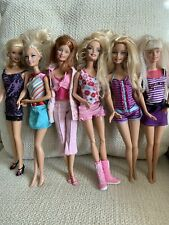 Lot of 6 Mattel Barbie Dolls with Clothes | Good Condition