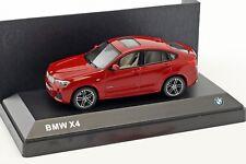 1/43 Herpa BMW X4 2014-2019 Melbourne Red DEALER EDITION