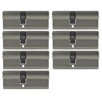 7x Profilzylinder 70mm 30/40 +35 Schlüssel Tür Zylinder Schloss gleichschließend