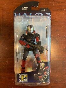 Halo 3  Spartan Soldier Eva Hellspartan SDCC 2008 Exclusive McFarlane Toys MIB