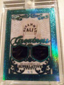 2020 Leaf Superlative Muhammad Ali Dual Relic #9/9