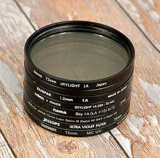 72mm 1A 1B UV Filtro Skylight Digital SLR Protección Free UK Post