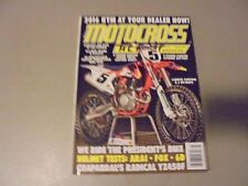 MARCH 2015 MOTOCROSS ACTION MAGAZINEKTMS OUT,HELMETS TEST,CHAPARRALS YZ450F