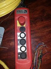 Stahl Crane Sytems Controller Pendant Remote control Sth 1202-021 32' Cable New