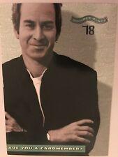 John McEnroe postcard tennis 🎾 American Express vintage affordable frameable