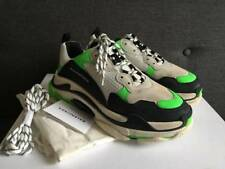 b2fd23157071 Balenciaga White   Green Triple S SNEAKERS Size EU 43 US 10