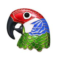 CG2930...ENAMELLED PARROT BROOCH - FREE UK P&P