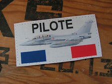 Snake Patch - SCRATCH MALE - PILOTE RAFALE - AIR VOL FRANCE PETAF AVION CHASSE