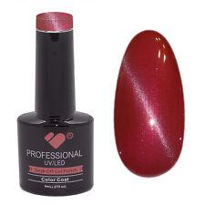 CE099 vb línea Ojo De Gato Rojo Metálico-Uñas de gel polaco-UV/LED 8 ml Botella