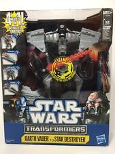 Star Wars Transformers Darth Vader to Star Destroyer - Hasbro - New