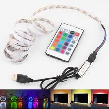 5V RGB LED Strip USB 5 V Led Strip Light TV Backlight 2835 1 - 5 M Lighting