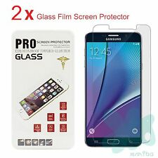 Premium Real Tempered Glass Film Screen Protector for Samsung Galaxy Note 5