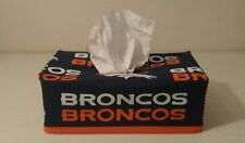 NFL Denver Broncos Tissue Box Cover (rectangle) Handmade