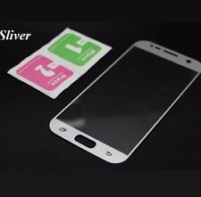 0.3mm Premium SILVER Full Tempered Glass Screen Protector for Samsung Galaxy S7