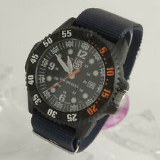 Luminox MASTER CARBON Navy Seal 3800-1gbq h-3lx textiles Bracciale Quarzo di