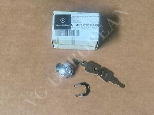 Mercedes-Benz Genuine W463 G-Class Spare Tire Wheel Carrier Latch Kit 02-05 NEW