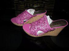 New Womens Pink Sugar Plum Moda Fancy Heels, Size 9