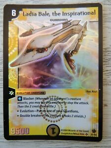 Duel Masters DM02 S1/S5 Ladia Bale, the Inspirational  Foil Card TCG WOTC