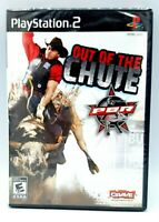 PlayStation 2 PBR OUT OF THE CHUTE 2008 Video Game Brand New Factory Sealed