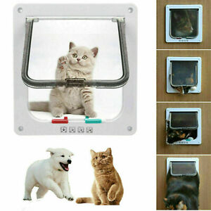 Katzenklappe Hundeklappe mit Tunnel PetSafe Haustiertür Katzentür Smart Cat z 11
