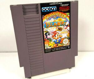 RAINBOW ISLANDS by Taito Nintendo NES PAL B FRA Spiel Nur Modul VGC +org SCHUBER