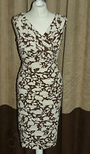 Brand New Phase Eight / 8 Florence Pleat bandage dress Size 10