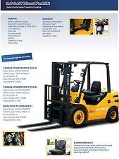 Brand New 3 Ton Forklift Jap ISUZU C240 Diesel Engine Auto and Sideshifter