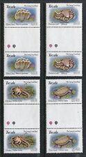 Tuvalu 638-641, MNH, Marine life 1993: Giant clam, Anemone crab, Octopus, x18899