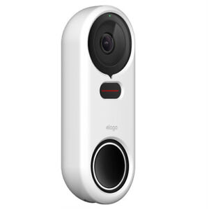 Google Nest Hello Doorbell Cover - elago®  Silicone Case [White]
