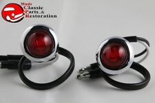 Custom Mini Red LED 0ccent Clearance Marker Lights Truck Hot Rat Street Rod