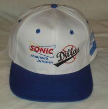 New-Promo Sonic KPUR 107 Amarillo Dillas White Baseball Cap NWOT NEVER WORN RARE