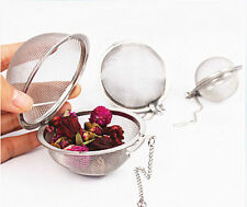 Stainless Steel Infuser Strainer Mesh Tea Filter Spoon Locking Spice Ball