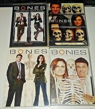 Bones seasons one,two, three and five  (4 complete dvd sets)