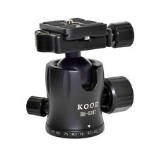 KOOD PROFESSIONAL BH-52MT TRIPOD BALL HEAD WITH FRICTION CONTROL 8 KILO CAPACITY