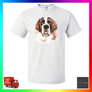 St Bernard TShirt T-Shirt Tee Dog Doge Pup Puppy Pupper Breeder Walker Cute