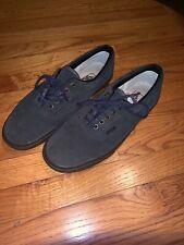 finest selection 00ad1 bb422 VANS Era Suede Rare Navy Grey Men Sneakers Black Skate Supreme