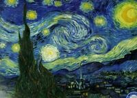 """Eurographics Vincent van Gogh """"The Starry Night"""" 1000 Piece Jigsaw Puzzle"""