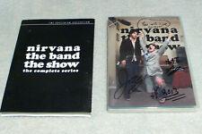 NIRVANA THE BAND THE SHOW Criterion 2-DVD Set 2007-9 WEB SERIES Nirvanna RARE!