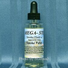 Mega Steam SMOKE PELLET Scented Smoke Unit Fluid For Lionel O G Electric Diesel