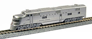 KATO 1765401 N  CB&Q Burlington #9910A EMD E5A Diesel N Scale 176-5401 - NEW