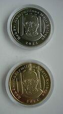 JEWS JEWISH Kolbe YEAR AUSCHWITZ  CONCENTRATION CAMP POLISH POLAND 2 medal