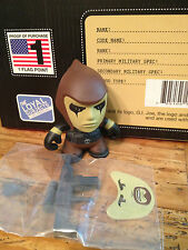 The Loyal Subjects X GI G.I Joe Mini Figure Zartan Vinyl Cobra Series 1