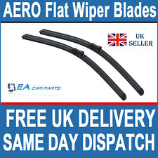 FORD MONDEO HATCHBACK  2007+ FRONT & REAR AERO EA Flat Wiper Blades 26-19-19