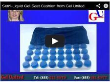 Semi Liquid Polymer Gel Seat Cushion - Wheelchair Gel Cushion