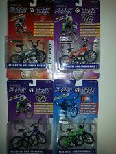 Flik Trix Finger Bikes Series 1 Lot of 4 1999 sealed General Lee, more