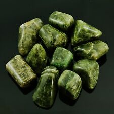 VESUVIANITE -1 Tumbled Polished Medium 15-19 grams each w/ Healing Property Card