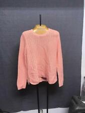 Brand New! Talbots Pink Knitted Sweater Size PXL Retail $59.99